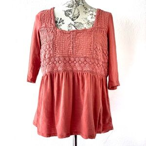 Meadow Rue Anthropologie blouse